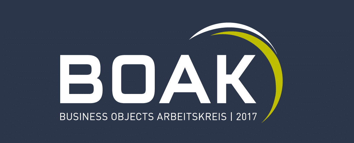 BOAK Business Objects Arbeitskreis 2017